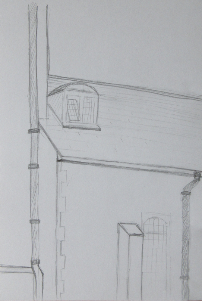 open door drawing perspective. Day 4 Was Spent With Veronique Maria, \u201cdrawing The Senses\u201d This A Somewhat New-Age Blend Of Mindfulness, Drawing And Sculpting Your Eyes Open Door Perspective